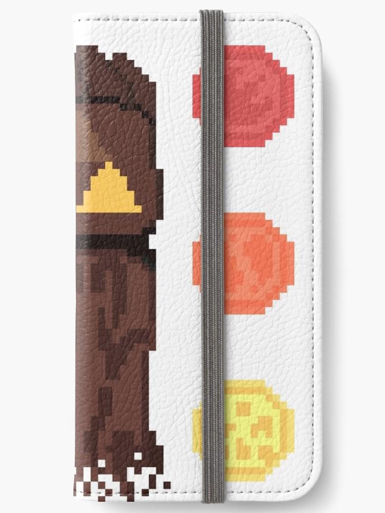 Legend Of Zelda Oot Pixel Art Iphone Wallet By Luisdenart