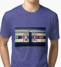 Geneva Carriage  Tri-blend T-Shirt