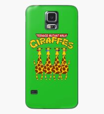 Teenage Mutant Ninja Giraffes Case/Skin for Samsung Galaxy