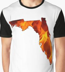 Florida State Fire Graphic T-Shirt