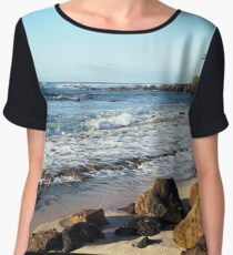 North Shore, Hawaii, USA Women's Chiffon Top