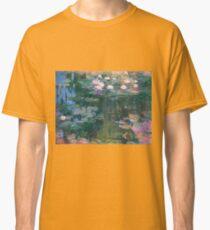 Claude Monet - Water Lilies 1917 4 Classic T-Shirt