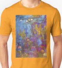 Claude Monet - Water Lilies 1917 2 Unisex T-Shirt