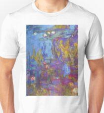 Claude Monet - Water Lilies 1917 2 T-Shirt