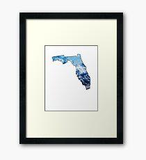 Florida State Cloudy Sky Framed Print