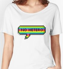 No Hetero Women's Relaxed Fit T-Shirt