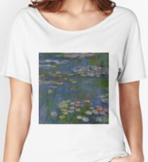Claude Monet - Water Lilies 1916 Women's Relaxed Fit T-Shirt