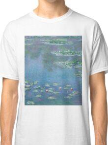 Claude Monet - Water Lilies 1906 Classic T-Shirt