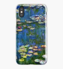 Claude Monet - Water Lilies 1916 iPhone Case/Skin