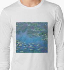 Claude Monet - Water Lilies 1906 Long Sleeve T-Shirt
