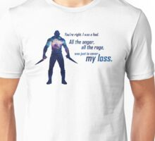 All the Anger, All the Rage Unisex T-Shirt
