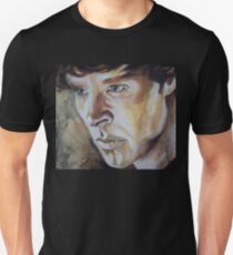 Benedict Cumberbatch Sherlock inspired fan art Unisex T-Shirt