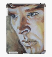 Benedict Cumberbatch Sherlock inspired fan art iPad Case/Skin