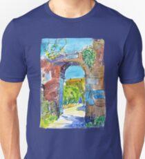Monastery of Santa Croce, Liguria, Italy Unisex T-Shirt