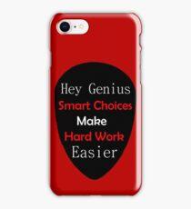 Genius Make Easy iPhone Case/Skin