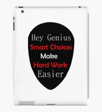 Genius Make Easy iPad Case/Skin
