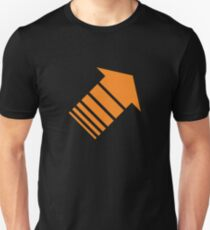 Orange arrow Unisex T-Shirt