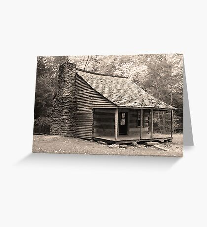 The Shields Place  Greeting Card