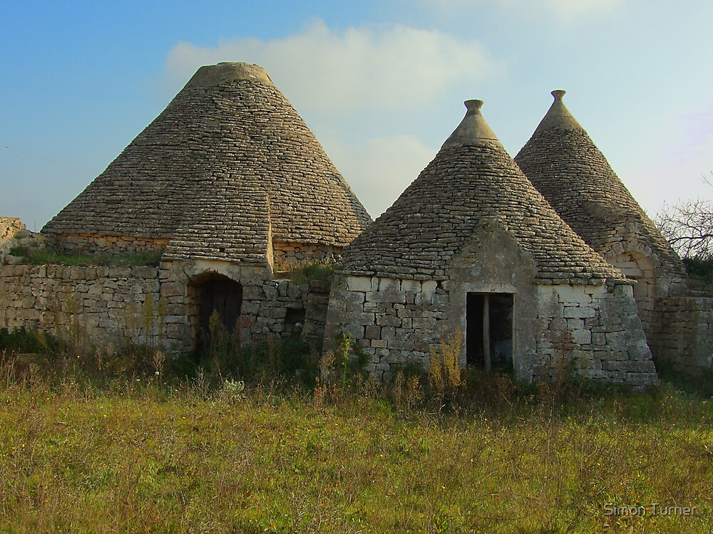 Part of a Trullo Farm by Simon Turner