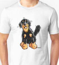 Funny Hovawart Cartoon Unisex T-Shirt