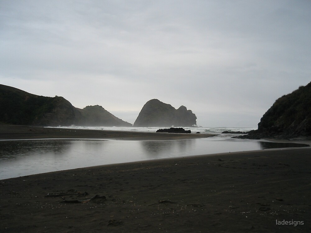 Camel Rock at Piha by ladesigns