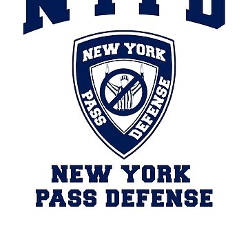 NEW YORK PASS DEFENSE all blue by BDawg