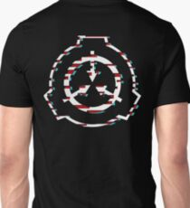 SCP Foundation symbol glitch Unisex T-Shirt