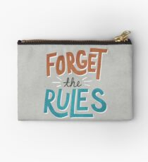 Forget The Rules Studio Pouch