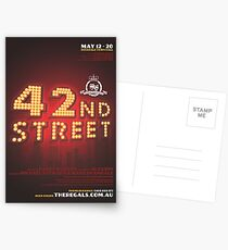 The Regals - 42ND STREET - Poster Postcards