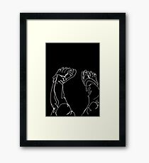 Idle Feet Framed Print