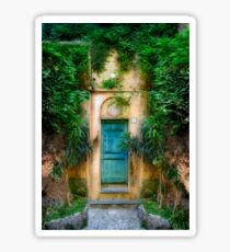 Tuscany doorway Sticker