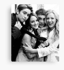 Gossip Girl Canvas Print