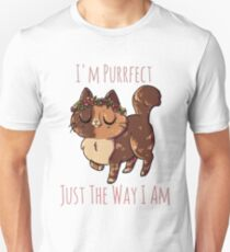 Purrfect The Way I Am T-Shirt
