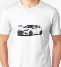 Ford Focus RS MK3 - Frozen White Concept Art Unisex T-Shirt