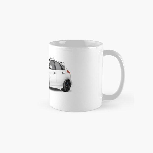 Ford Focus RS MK3 - Frozen White Concept Art Classic Mug