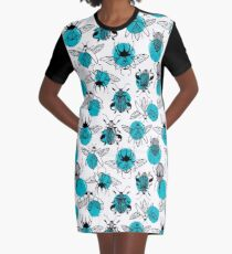 Exotic beetles Graphic T-Shirt Dress