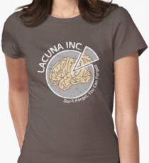 Lacuna Inc. logo from Eternal Sunshine of the Spotless Mind Womens Fitted T-Shirt