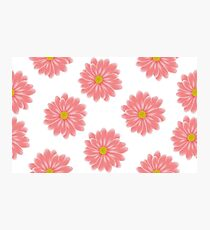 Spring and summer flower gerbera daisy flowers pattern Photographic Print