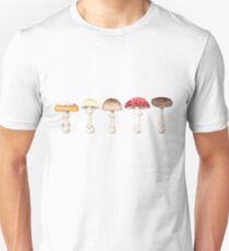 Amanita Mushrooms Unisex T-Shirt