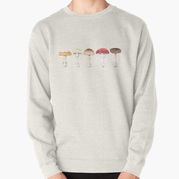 Amanita Mushrooms Pullover Sweatshirt