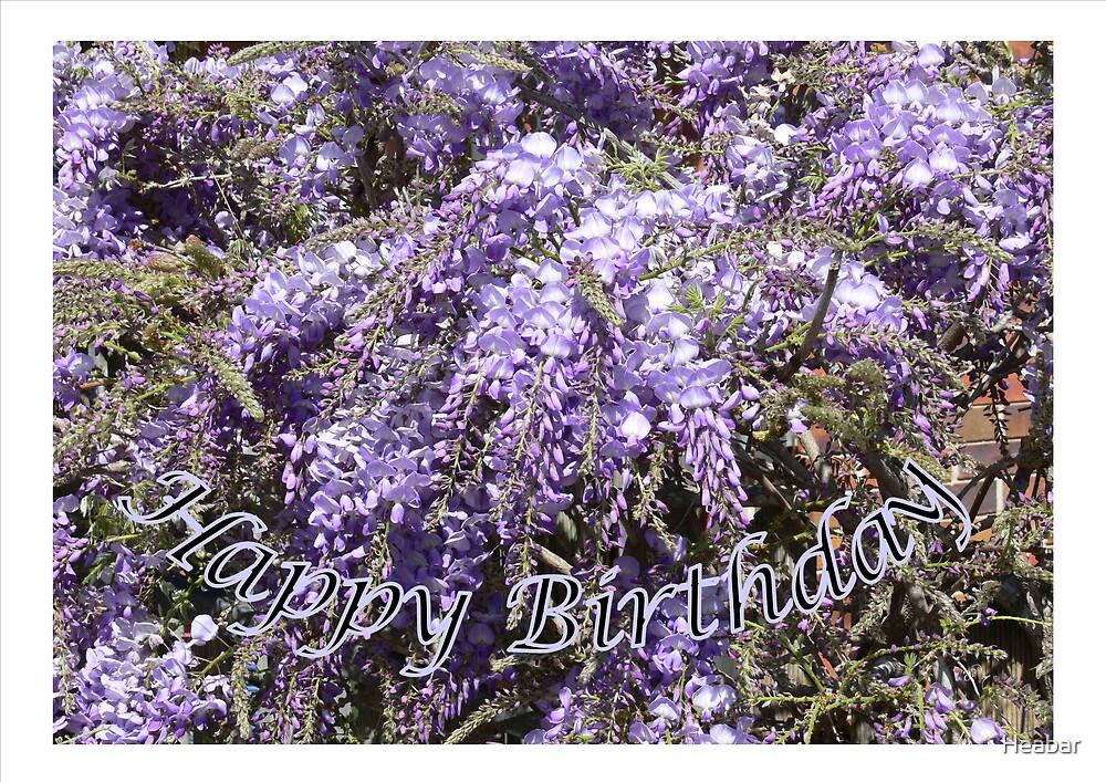 Happy Birthday anyone !!! by Heabar