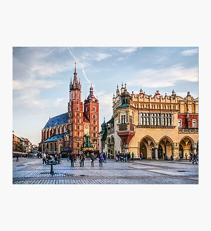 Cracow Main Square art Photographic Print
