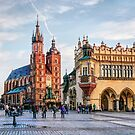 Cracow Main Square art by JBJart