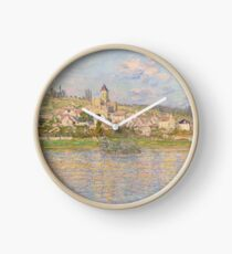 Claude Monet - Vetheuil 1879 Clock