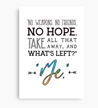 Buffy Quote  Canvas Print