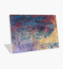 Claude Monet - The Water Lily Pond In The Evening 1916  Laptop Skin