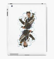 Steampunk Nikola Tesla iPad Case/Skin