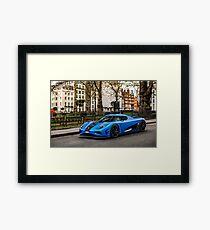 Koenigsegg Agera R Framed Print