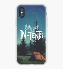 Let's Get In-Tents iPhone Case