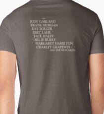 Wizard Of Oz Credits Mens V-Neck T-Shirt